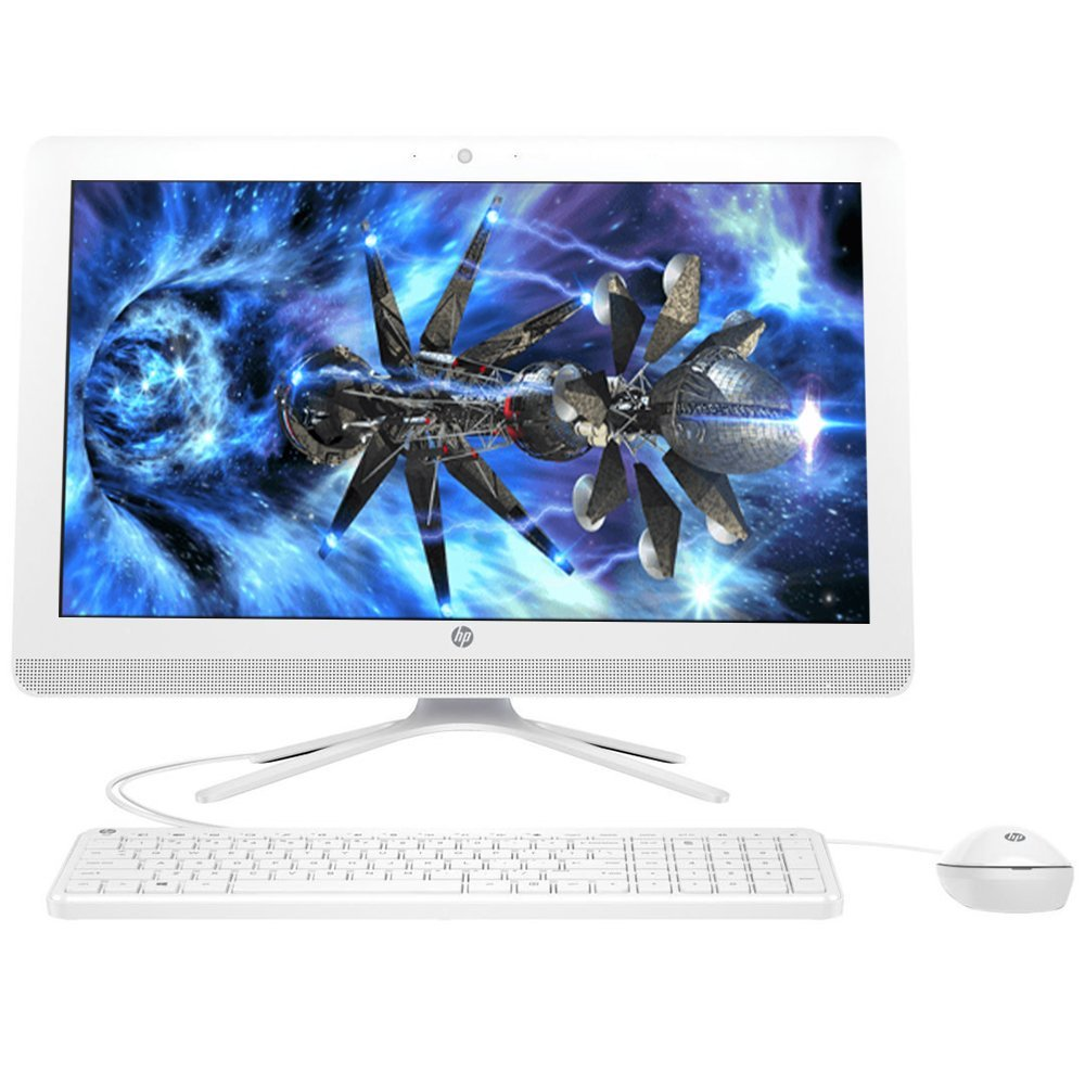 2018 Flagship HP Pavilion 21.5' Full HD IPS All-in-One Desktop Computer, Intel Pentium J3710 1.6 GHz , 4GB RAM, 1TB 7200RPM HDD, HDMI, Bluetooth 4.0, USB 3.0, Windows 10 (Renewed)
