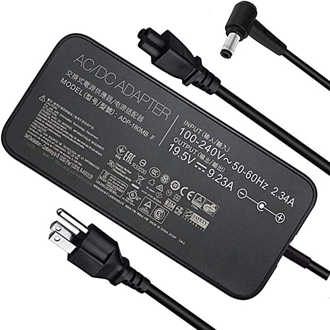 ABLEGRID AC//DC Adapter for Asus ROG G751JL-BSI7T28 17.3-Inch Gaming Laptop Power Supply Cord Cable PS Battery Charger Input 100-240 VAC Worldwide Use Mains PSU