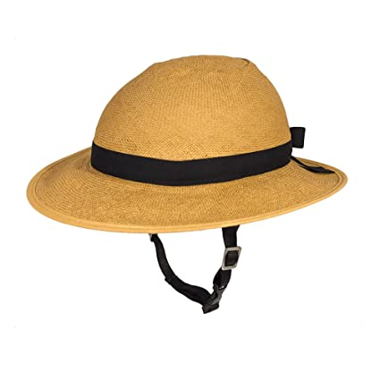 Amazon.com   Straw Hat Bike Helmet (Includes Straw Hat Cover and ... c02ce3a0b823