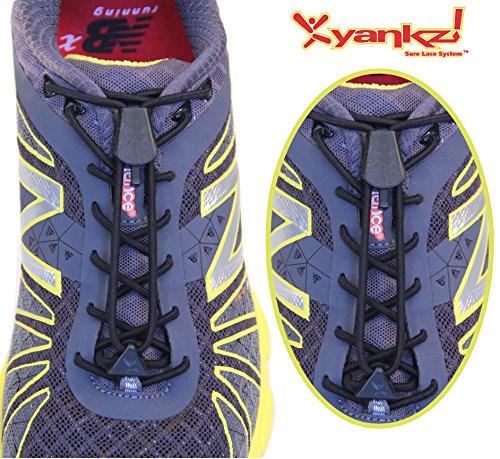 Yankz! SureLace No Tie Elastic Shoelace System with 2 Lock A