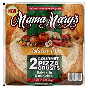 Mama Marys Mama M Pizza Crust 2Pk Gluten Free 7 Oz (Pack Of 8)