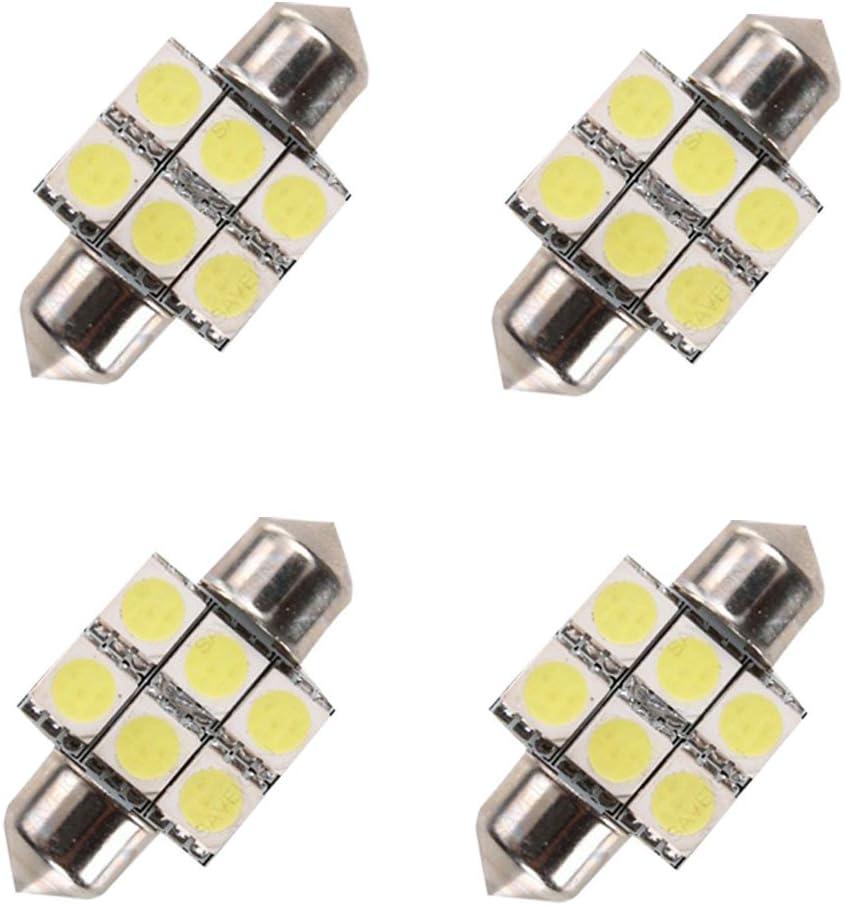 For Kia Forte Sedan Koup Led Interior Lights Led Interior Car Lights Bulbs Kit White 2010-2018 4Pcs