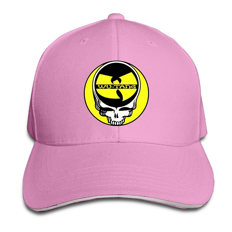 FOODE Grateful Dead And Wu-Tang Clan Mashup Peaked Baseball Cap Snapback Hats