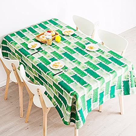 140 * 240 cm verde moderno escandinavo Instagram mantel algodón ...