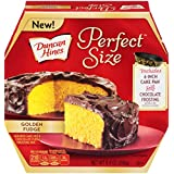 Duncan Hines Perfect Size Cake Mix, Golden Fudge, 9.4 Ounce