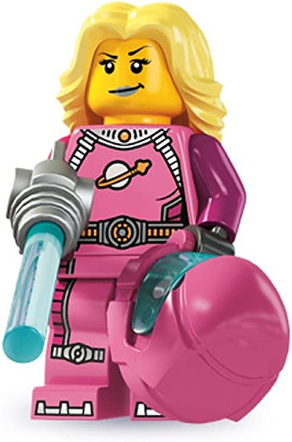 BRIDE FIGURE READ LEGO-MINIFIGURES ACCESSORIES,PINK,WHITE BUNCH OF FLOWERS
