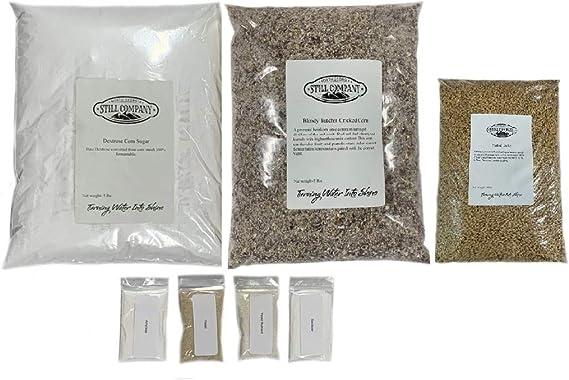 Bloody Butcher Cracked Corn & Malted Barley Whiskey Mash & Fermentation Kit by North Georgia Still Company