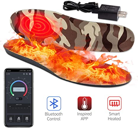 XL Or Medium Price Is For One Pair! Sharper Image Heated Insoles NEW Size L