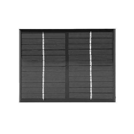 Amazon.com: Tangxi 1.5W 12V Panel Solar con 39.4 in de ...