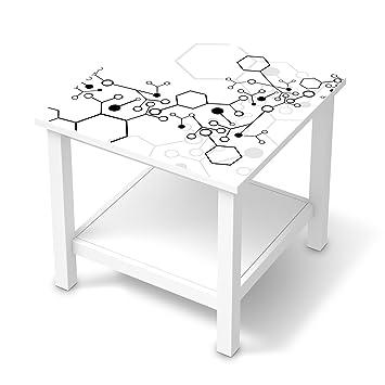 Creatisto Möbeltattoo Für IKEA Hemnes Beistelltisch 55x55 Cm | Möbelfolie  Klebefolie Sticker Tapete Möbel Renovieren |