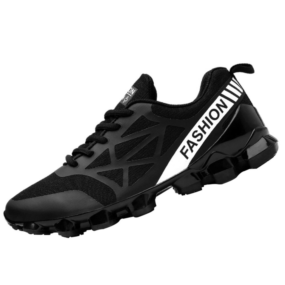 Zapatos Corrientes De Malla Transpirable Para Hombre Zapatos De Senderismo Zapatos Ligeros Antideslizantes Que Absorben Los Golpes 42EU 1
