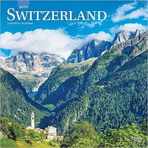 Switzerland 2019 Calendar