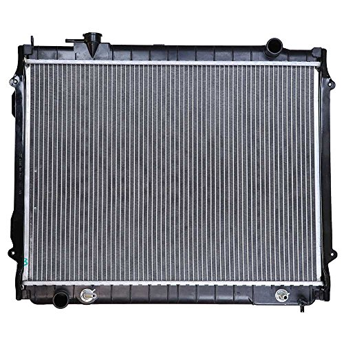 2004 Toyota Tacoma Radiator - Prime Choice Auto Parts RK686 New Complete Aluminum Radiator
