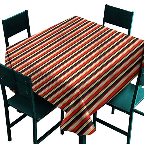 Iridescent cloud Abstract Restaurant Tablecloth Colorful Vibrant Backdrop Washable Polyester - Great for Buffet Table, Parties, Holiday Dinner, Wedding & More W70 x -