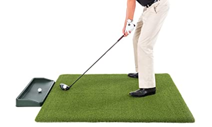 Amazon.com: Super Tee alfombra de golf con bandeja – 5 pies ...