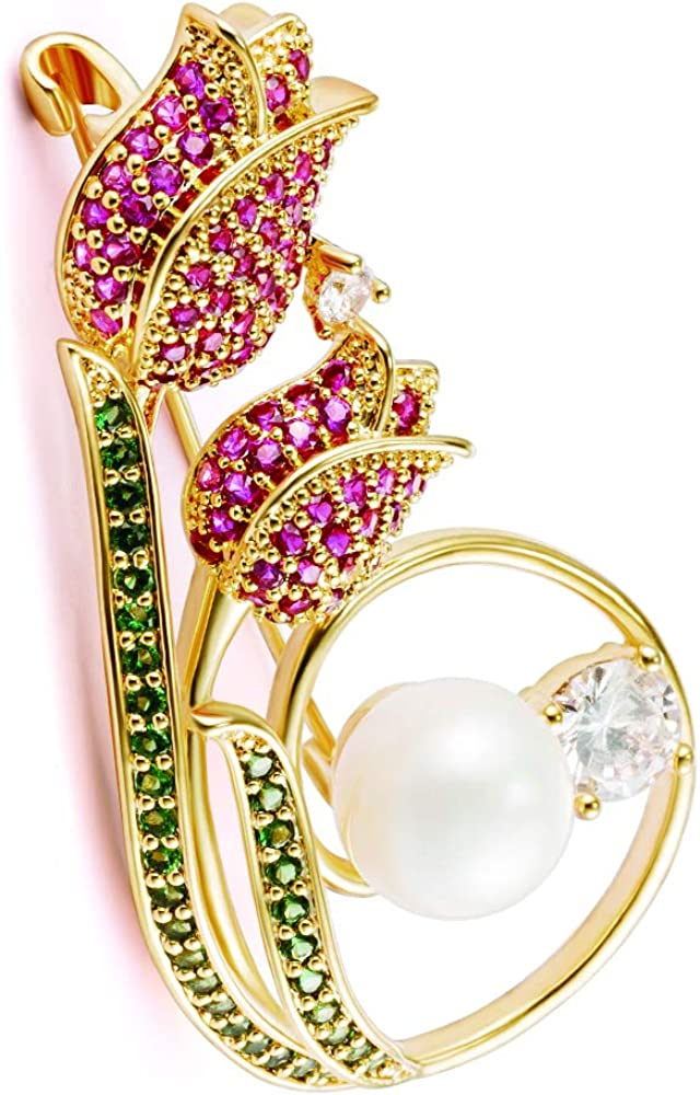 Rhinestone Crystal Pearl Animal Frog Flower Girls Brooch Pin Women Jewelly Lots