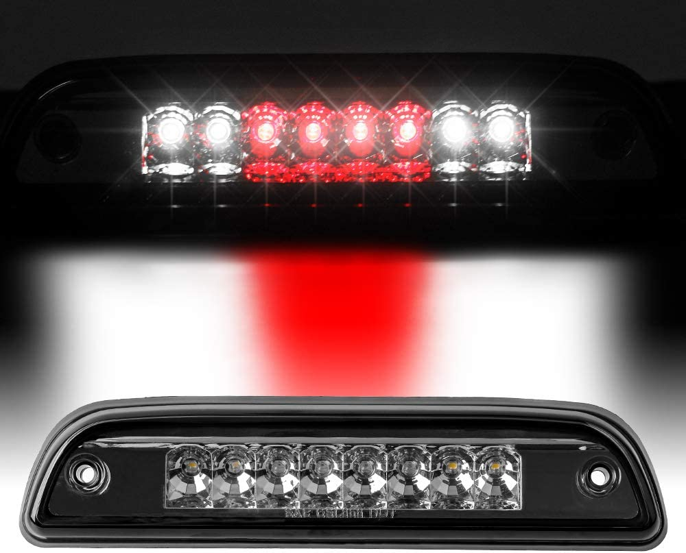 Clear Housing-I 3rd Third Brake Light Black High Mount LED Lamp Fit For Tacoma 1995-2016 Plug And Play Operation Low Power Consumption