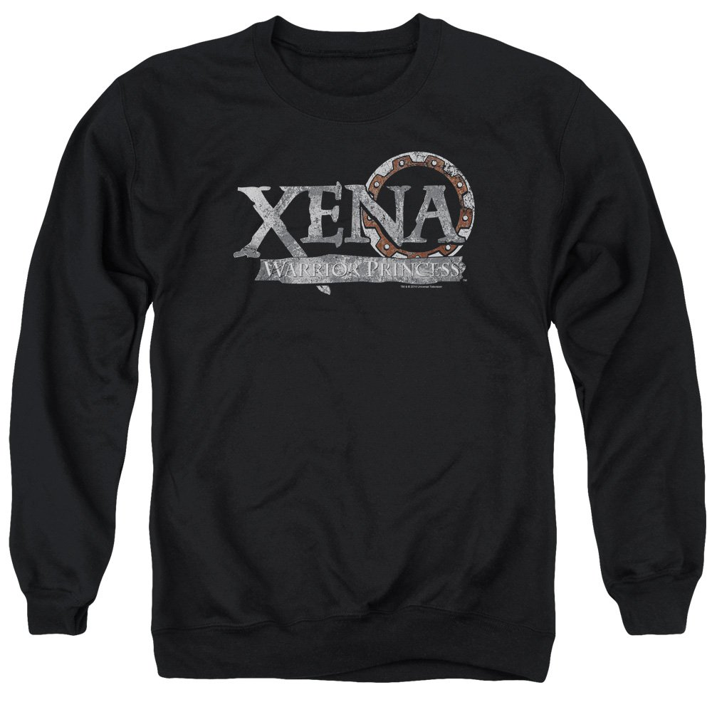 MMM Merchandising Xena Mens Battered Logo Sweater