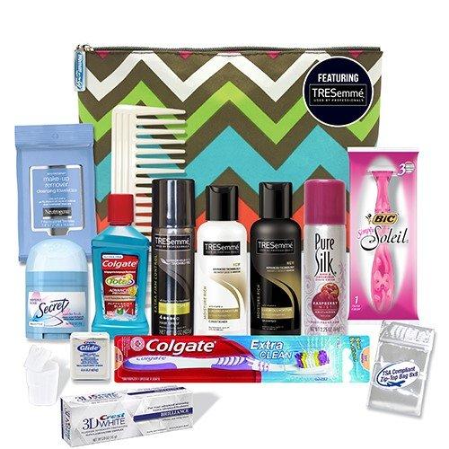 Convenience Kits Women's Premium 15-Piece Travel Kit