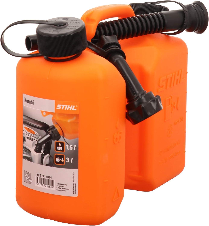 Stihl Kombi Kanister Orange Standard 3 Und 1 5 Liter Sport Freizeit