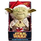 Star Wars Santa Yoda Talking Plush (Medium)