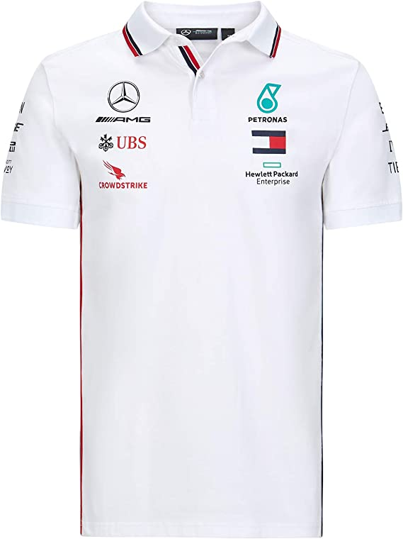 MAMGP 2020 Mercedes-AMG F1 Team - Polo para hombre: Amazon.es ...