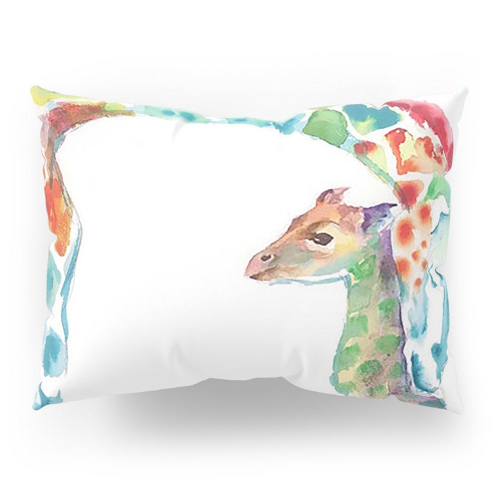 Society6 Mummy And Baby Giraffe College Dorm Decor Pillow Sham Standard (20'' x 26'') Set of 2