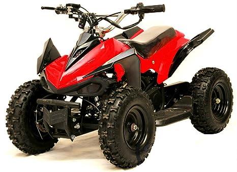 KOBRA Mini Quad 49cc 2 tiempos: Seguridad para niños, ajuste. Velocidad, Arranque