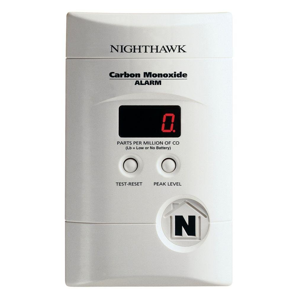Kidde KN-COPP-3 Nighthawk Plug-In Carbon Monoxide Alarm with Battery Backup and Digital Display2-Pack Color White Size 2 Pack, Model , Tools Outdoor Store