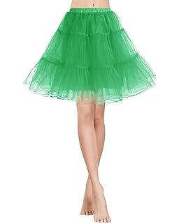 004c15d17 Bridesmay Enaguas Años 50 Vintage para Vestidos Faldas Cortas De Tul ...