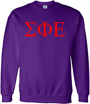Sig Ep Large Athletic Crewneck Sweatshirt Sigma Phi Epsilon Sweatshirt