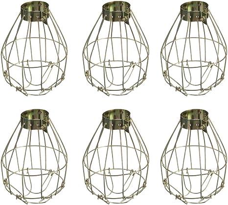 Vintage Wire Cage Clamp Light Trouble Light Leviton Porcelain Socket Metal Clamp Light Fixture Office Design Industrial Surplus