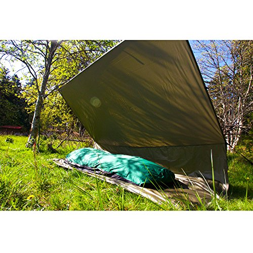 Aqua-Quest The Mummy Combo 2-pc Camping System - 100% Waterproof - 13 x 10 ft Large Guide Tarp - Green by Aqua Quest (Image #4)