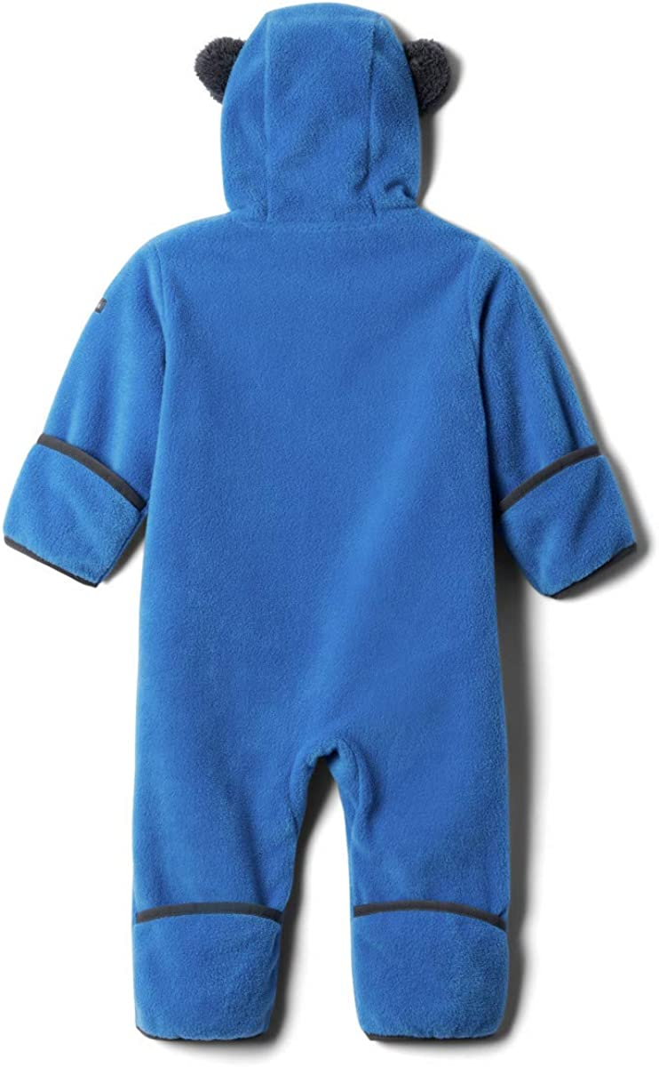 Bright Indigo Warm 6//12 Columbia Infant Tiny Bear II Bunting Soft Fleece