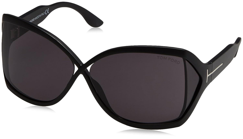 2a4e49e4a5 Sunglasses Tom Ford 427 Black Square at Amazon Men s Clothing store