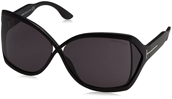 Amazon.com: anteojos de sol TOM FORD 427 cuadrado negro ...