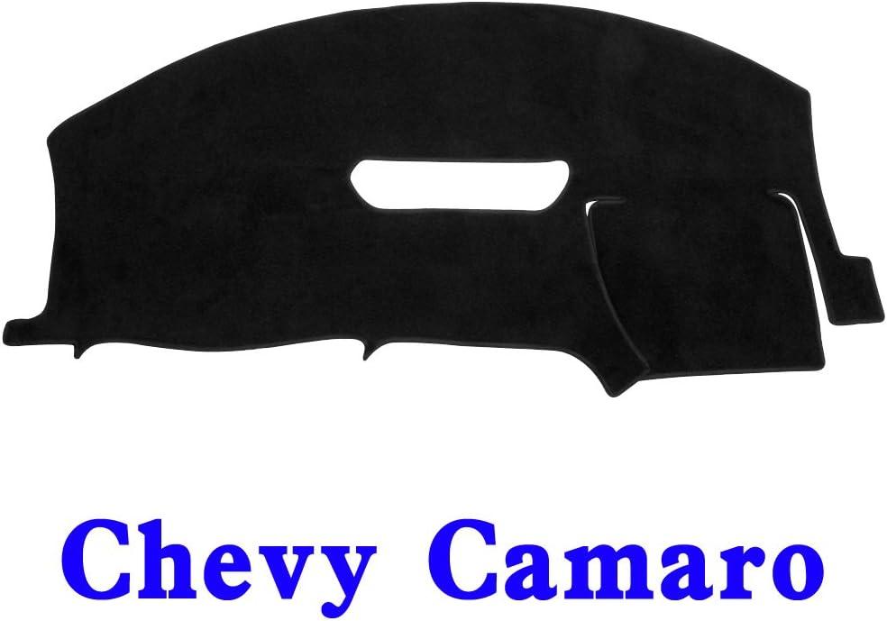 JIAKANUO Auto Car Dashboard Carpet Dash Board Cover Mat Fit for Chevrolet Camaro