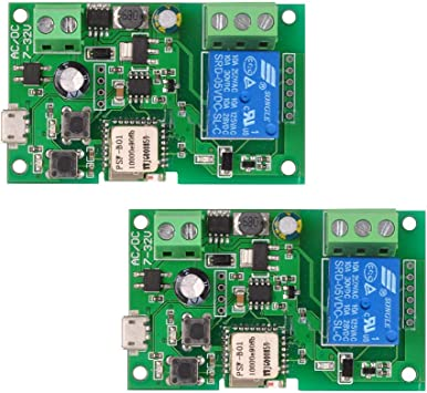 eWeLink DC5V 12V 24V 32V Wifi Switch Wireless Relais Modul Smart Home K5P2  L3C6
