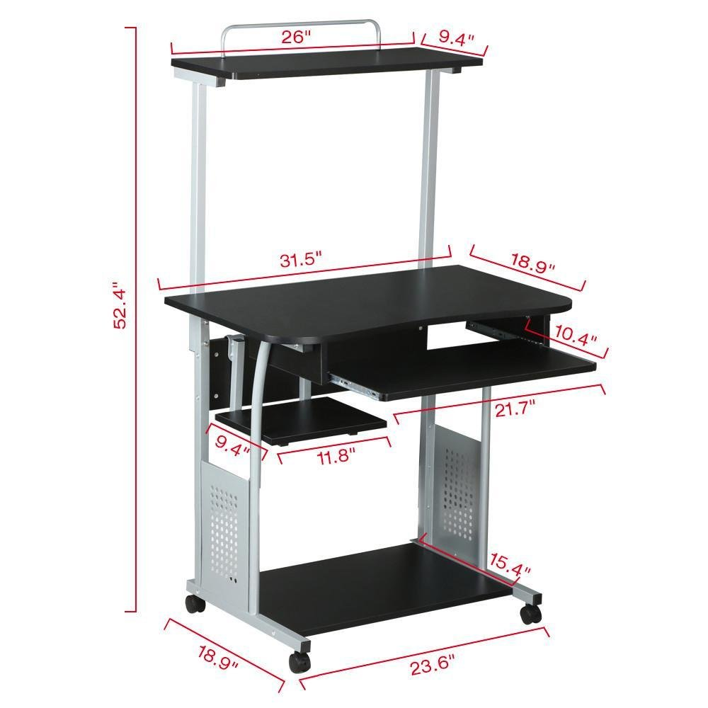 pullout below with printer custom counter hide your shelf watch shelving youtube