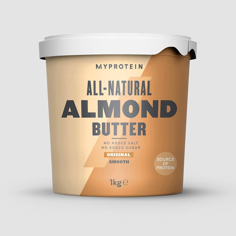 Myprotein Suplimento Alimenticio Natural Almond Butter - 1 Unidad 1000 g
