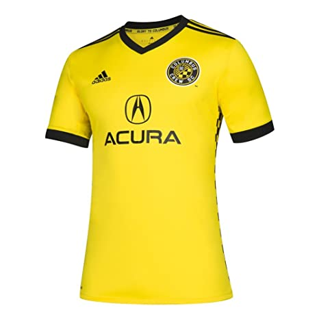 Buy adidas Columbus Crew Jersey Replica Home Soccer Jersey (XXX ... 5ce102d11