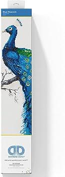 "Diamond Dotz Diamond Embroidery Facet Art Kit 12.6/""X12.6/""-Peacock Mandala"