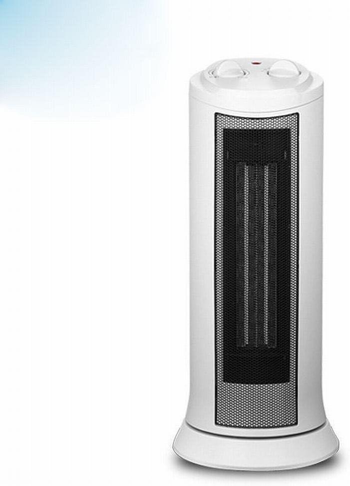 JRM Calentadores de la Torre Del Calentador Ahorro de Energía Del Hogar Sacudiendo Su Cabeza Calefacción Eléctrica Calentamiento Vertical Silencio,Blanco: Amazon.es: Hogar