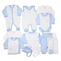 TupTam Unisex Baby Erstausstattung Bekleidungsset 11 teilig