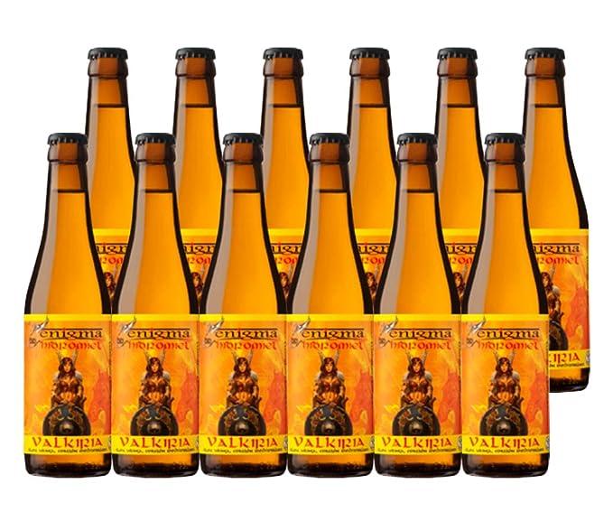 Cervezas Enigma - Hidromiel Valkiria - 12 botellas x 0,33 L ...