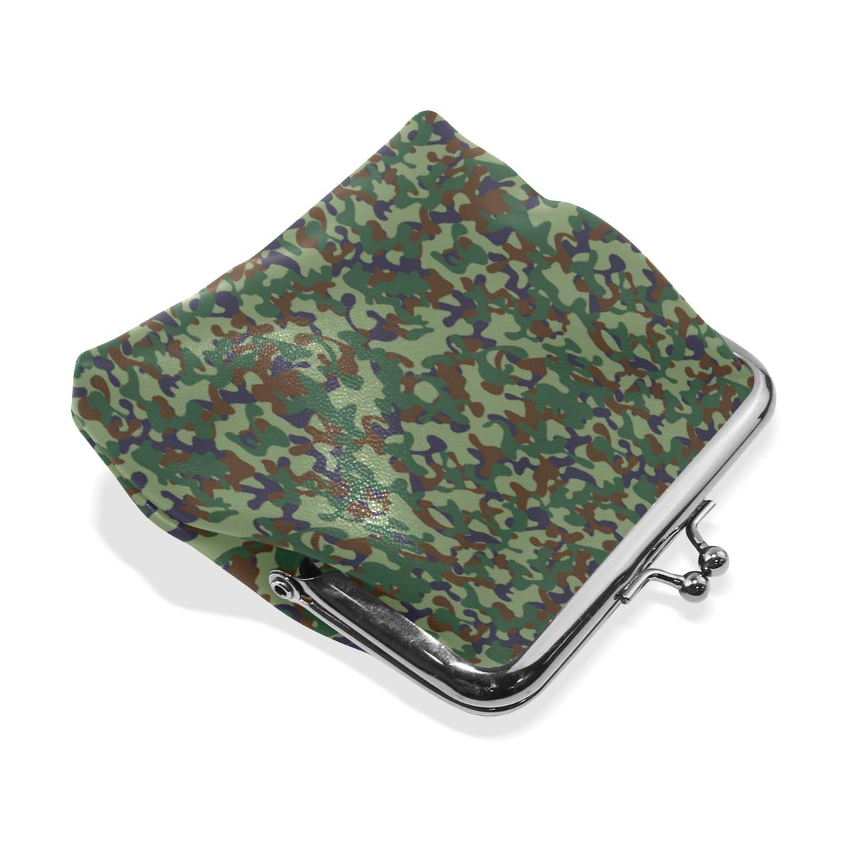 Fashion Womens Coin Purse Camouflage Military Vintage Pouch Mini Purse Wallets