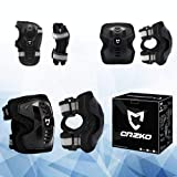 CrzKo Kids/Youth Protective Gear, Knee Pads and
