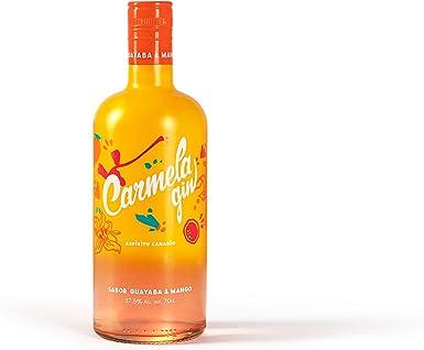 Arehucas Ginebra Carmela Mango Guayaba - 700 ml, Botella (000088)