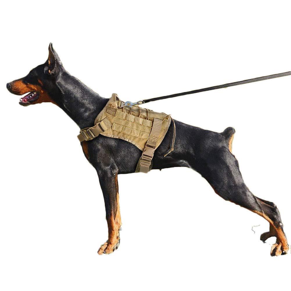 Snaked cat Police K9/Allenamento tattico Militare Imbracatura Regolabile Impermeabile Training Molle Imbracatura per Cani Grandi Allenamento o da Passeggio
