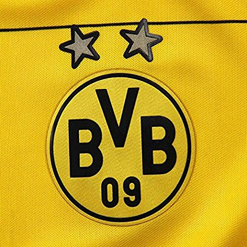Puma Reus # 11 Bvb Borussia Dortmund Uomo Home Jersey 2015-16 Giallo, Nero